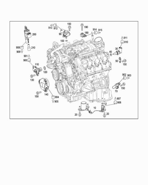 Mercedes M272 Engine Diagram Mercedes M112 Engine Diagram