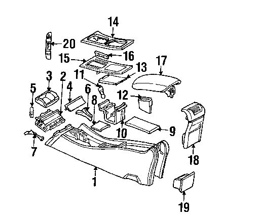 Service manual [Removing Center Console 2012 Mercedes Benz