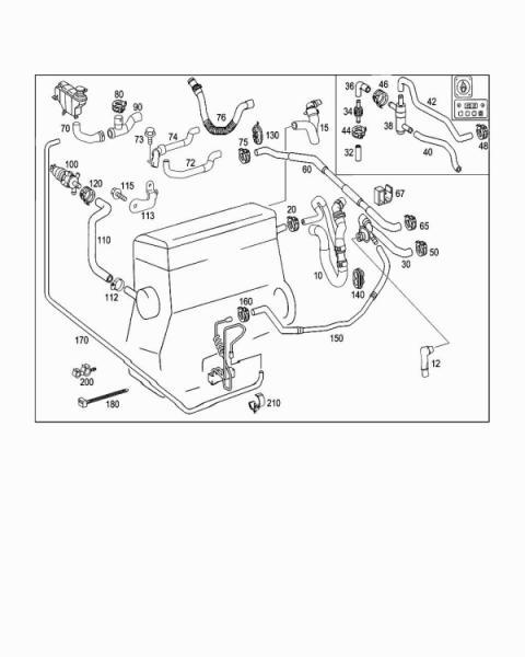 5 7 hemi engine diagram coolant