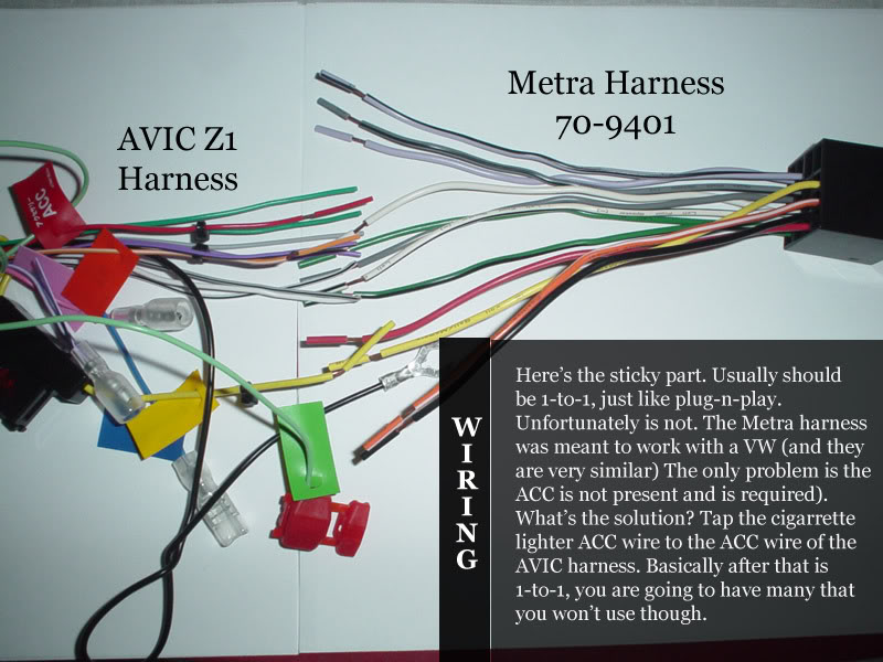 Metra Wiring Harness Instructions