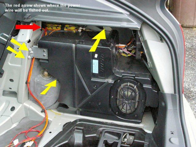 Caravan Radio Wiring Diagram Installing A Oem Sub Mbworld Org Forums
