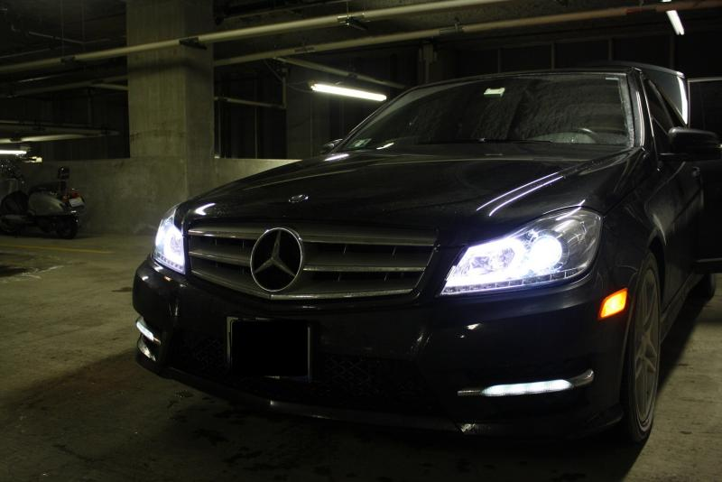 2012 13 SYPDERchrome HID Projector Headlights For Black