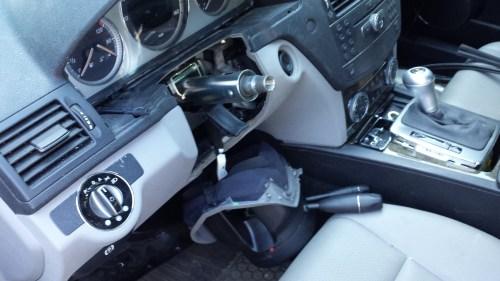 small resolution of  w204 steering wheel lock remove to repair diy 20150605 152808 jpg