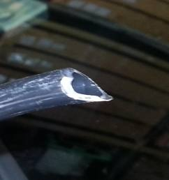 water leak how to test and unclog sunroof drains w pics 20130503 143538 zps98dbf802 [ 1024 x 768 Pixel ]