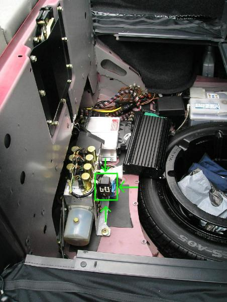 2013 Smart Car Fuse Box Layout Howto Cabriolet Convertible Top Hydraulic System
