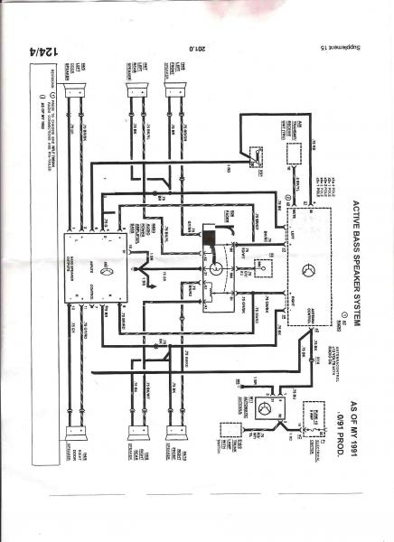 mercedes w124 abs wiring diagram verizon fios becker radio power antenna great installation of 93 300e need help w for mbworld org forums rh harness