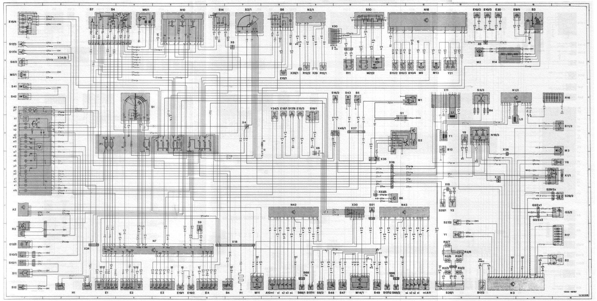 hight resolution of wiring diagram 54 schaltplan 230ce jpg