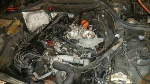 1987 300E, M103, StartStall Fuel Pressure, Crankshaft