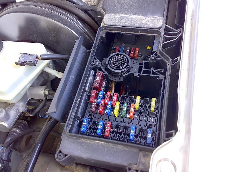 Mercedes Sprinter Fuse Box