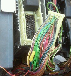 e420 loosen ecm wire e420 1 jpg  [ 1284 x 766 Pixel ]