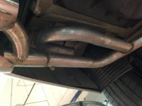 E500 Exhaust: Muffler+Resonator Delete, x-pipe, and j-pipe ...