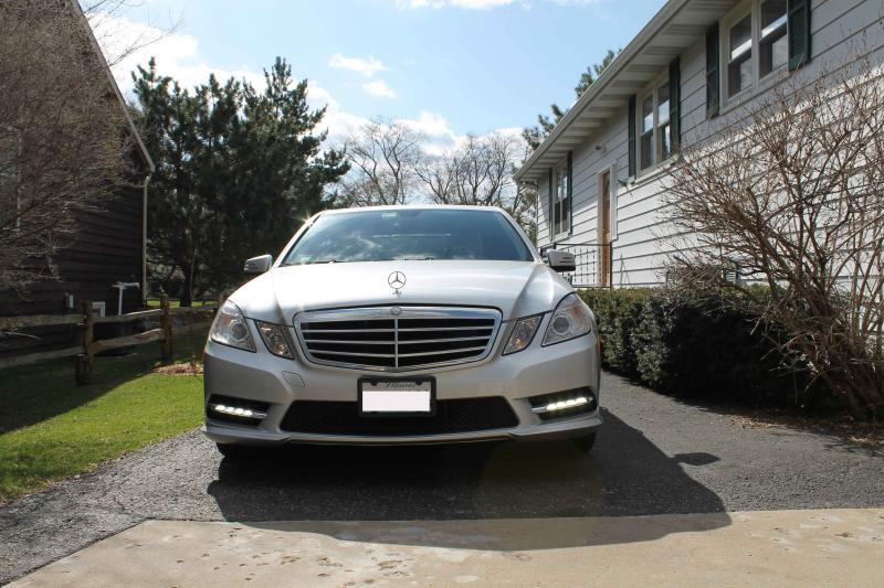 E350 2010 bumper type and LED drl cover grille question  MBWorldorg Forums