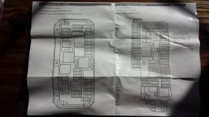 2013 W212 E350 EClass Fuse Panel Diagram  Chart  MBWorld