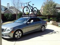 W212 OEM Roof Rack Basic Carrier, Bike Rack and Cable Lock ...