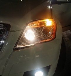 2014 glk350 low beam headlamps is much easier to change headlight jpg [ 3264 x 2448 Pixel ]