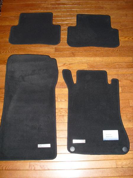 FS C Class Carpet floor Mats with gromets and Metal