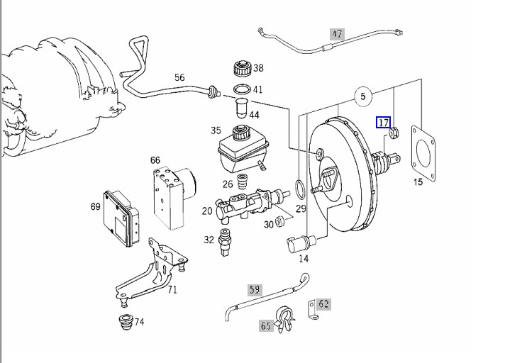 Brake Booster Vacuum Diagram Within Diagram Wiring And