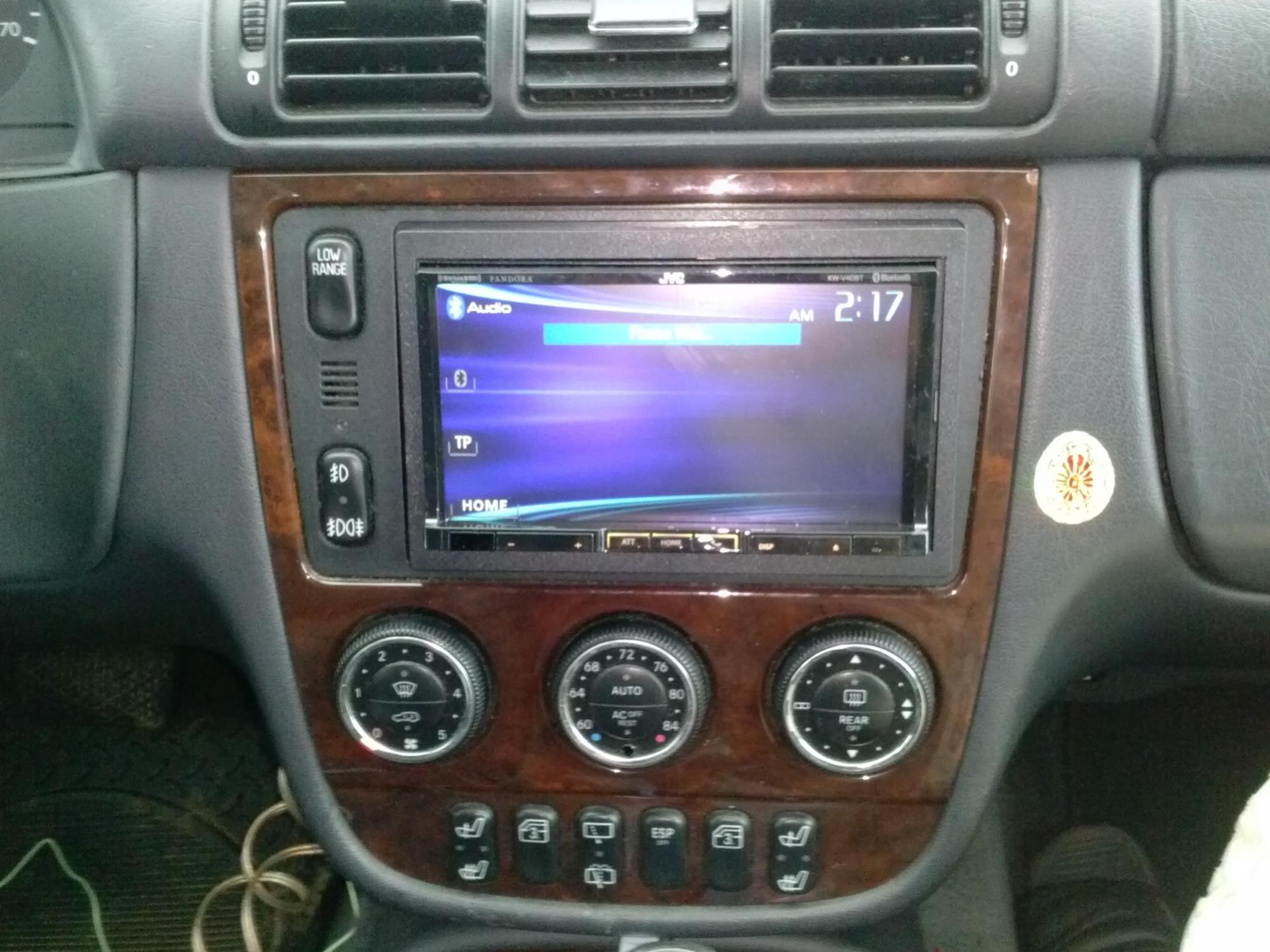 hight resolution of  2001 2005 ml350 stereo upgrade cam00791 jpg