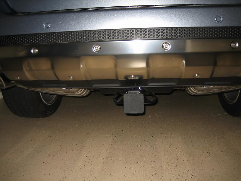Aftermarket Hitch Install