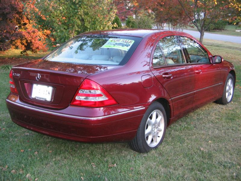 beautiful burgundy 2002 C240 12000  MBWorldorg Forums