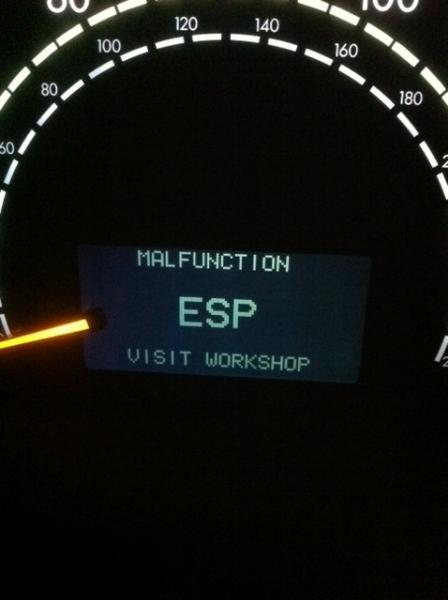 ESP Malfunction  2003 S500  MBWorldorg Forums