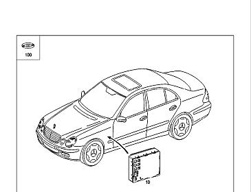 2004 Mercedes C230 Kompressor Fuse Diagram, 2004, Free