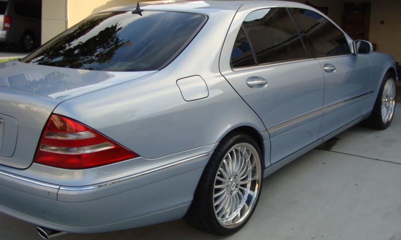 Mercedes Benz Front Lights