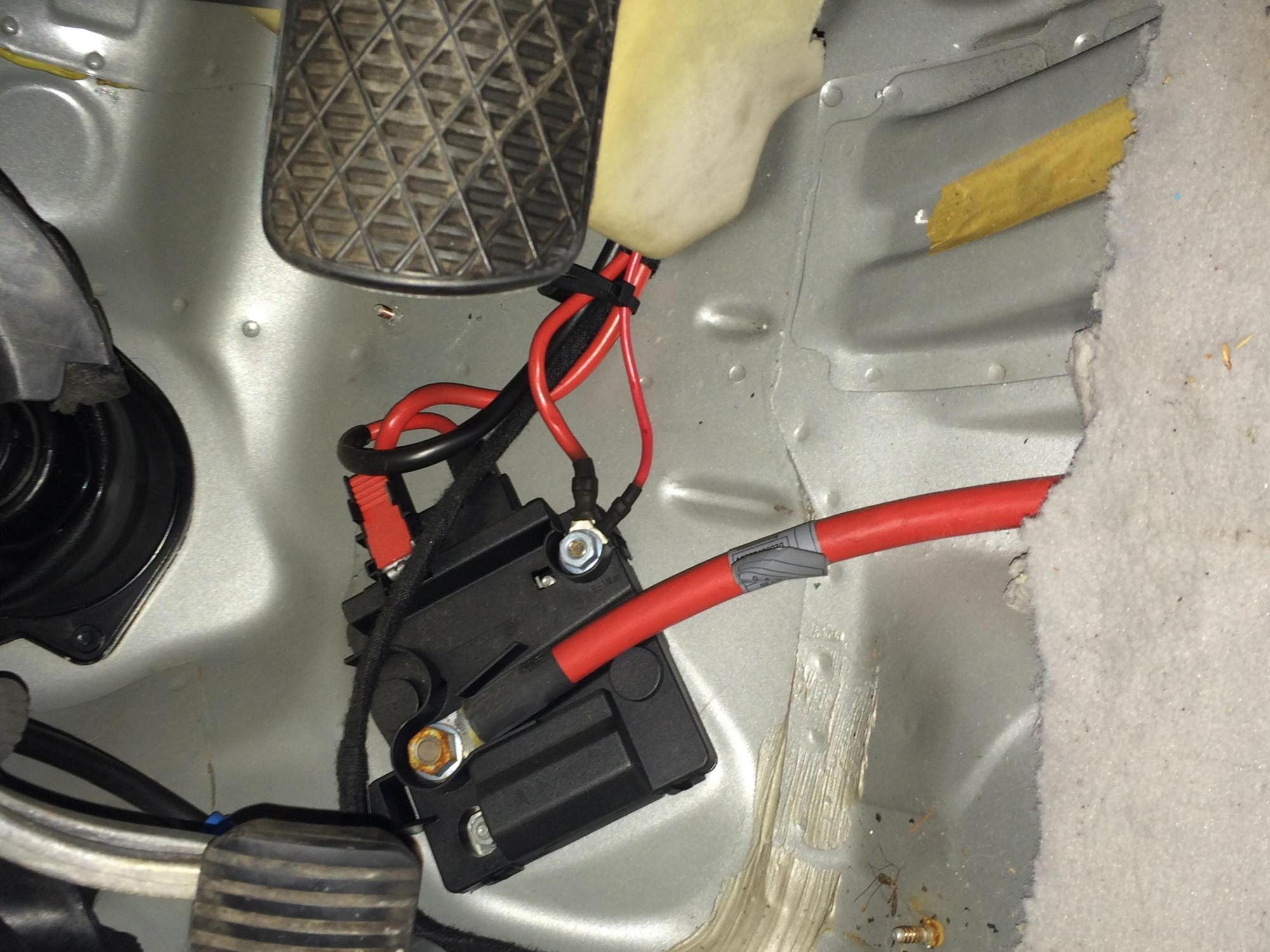 hight resolution of passenger footwell dead battery image jpg