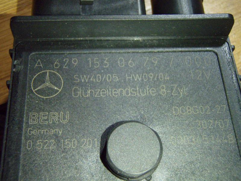 12 pin relay wiring diagram 2001 s10 stereo s420 cdi glow plug question - mbworld.org forums