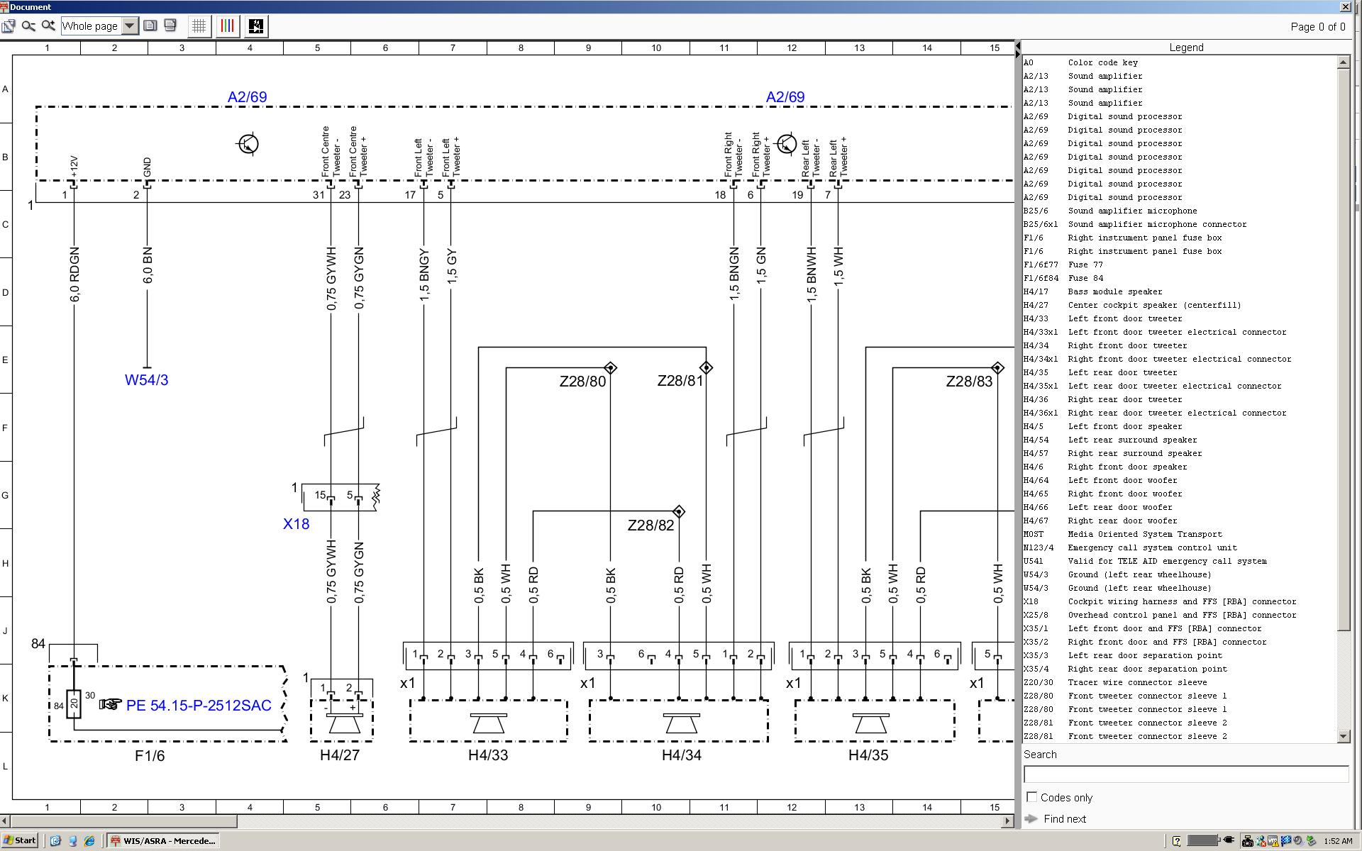 mb c300 wiring diagram
