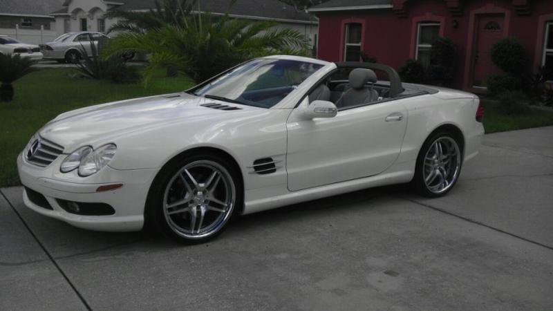 My New 20  Wheels on my SL500  MBWorldorg Forums