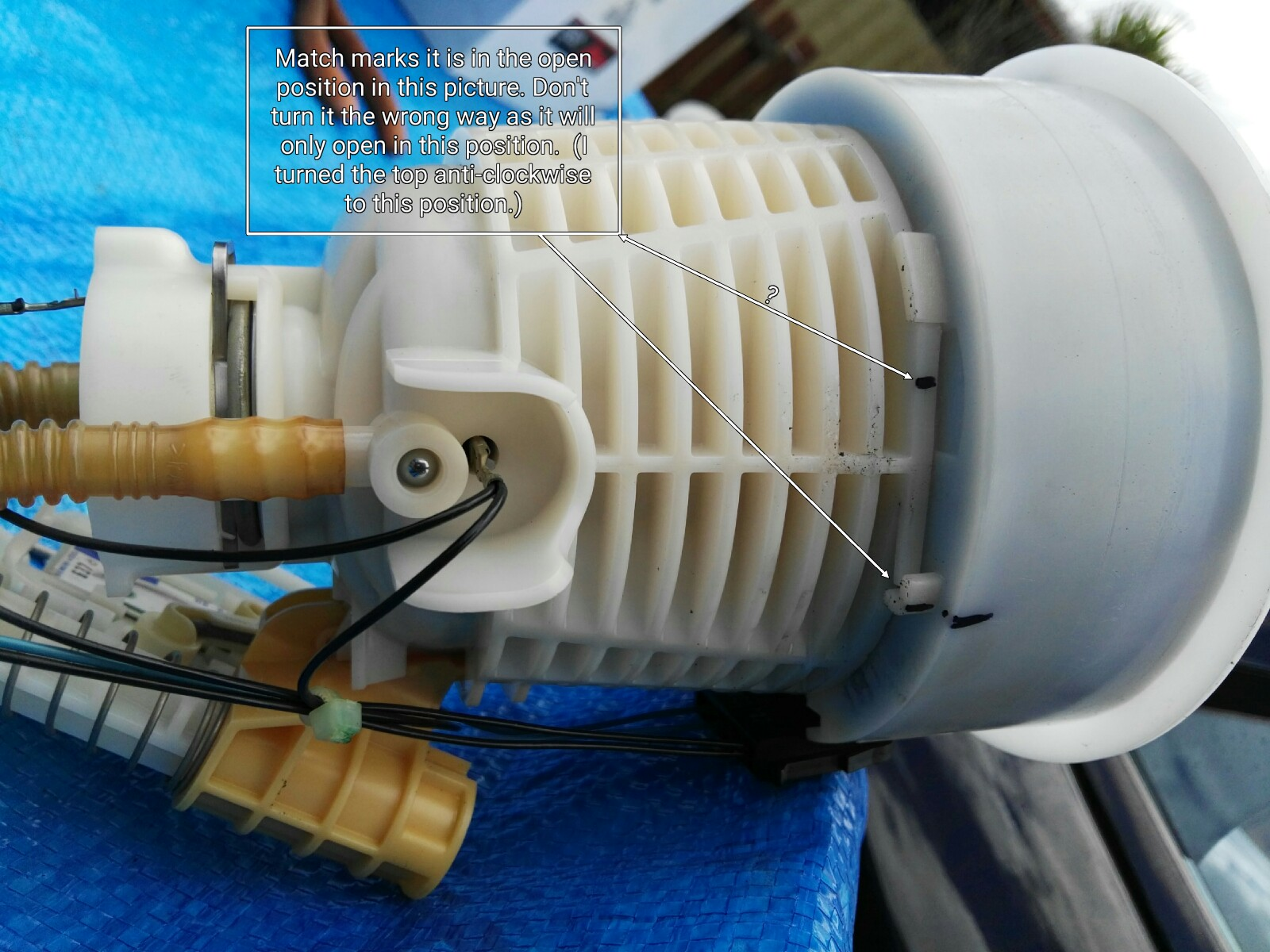 hight resolution of  diy fuel filter replacement tank repair and pump replace imagemeter export