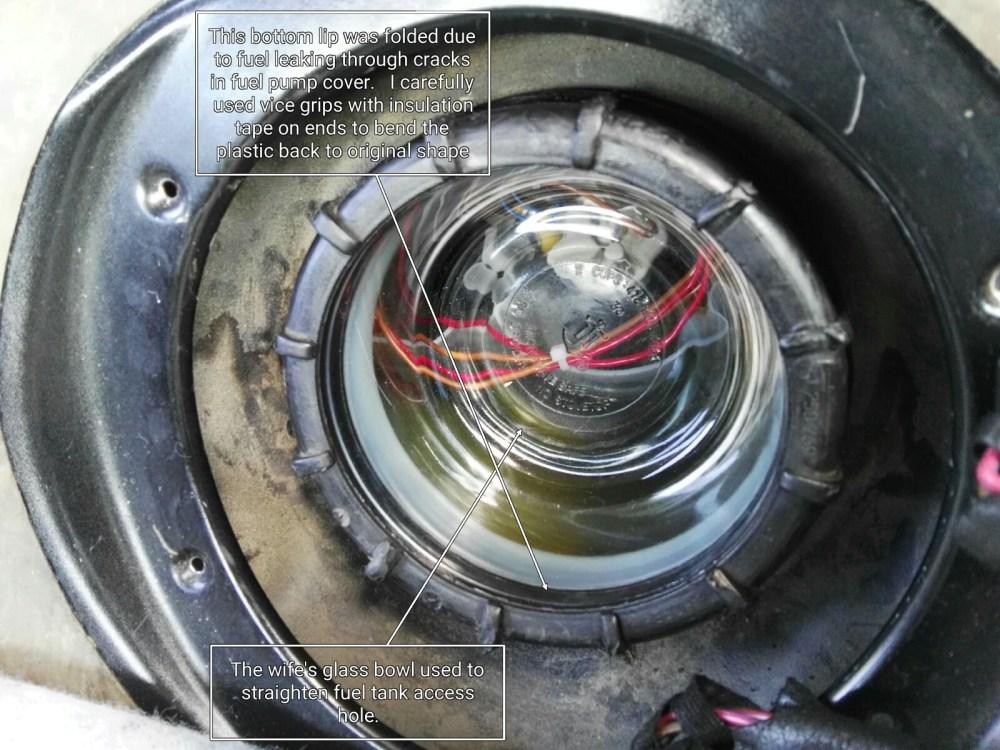 medium resolution of  diy fuel filter replacement tank repair and pump replace imagemeter export