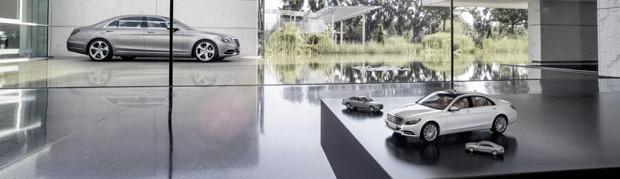 Mercedes-Benz S-Class Scale Model 6