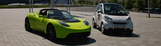 Daimler and Tesla Partnership Featured