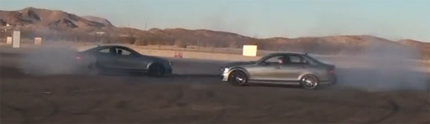 Mercedes-Benz C63 AMG Edition 507 Burnouts