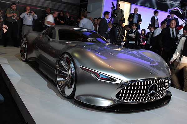 Live From LA Auto Show MercedesBenz Debuts Vision Gran Turismo - When is the la car show
