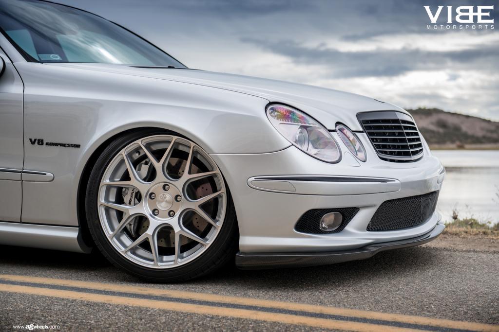 2006 Mercedes-Benz E55 AMG Slammed on Nice Wheels - MBWorld