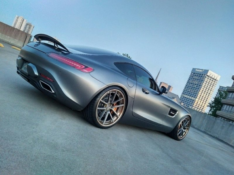 Mercedes-AMG GT S Looks Great With New Wheels and Suspension