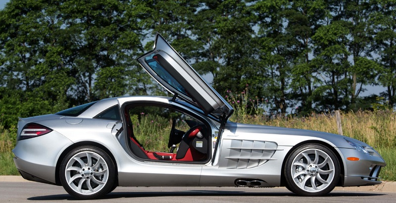 Iconic Mercedes Benz SLR McLaren Headed To Monterey Auction   MBWorld