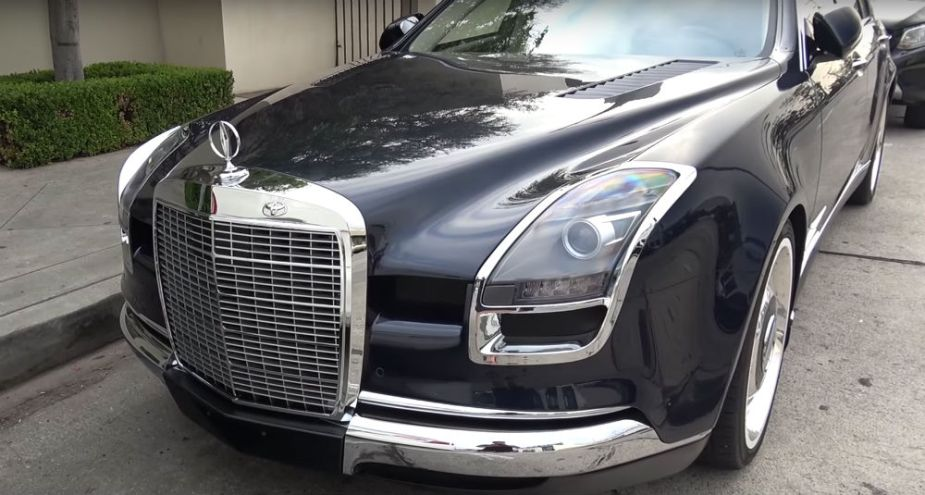 This Odd Customized Mercedes-Benz is the