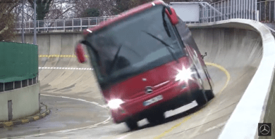 Mercedes-Benz Tourismo K Bus Is a Track Monster - MBWorld