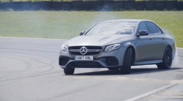 Good News! The AMG E63 S passes the Top Gear test.
