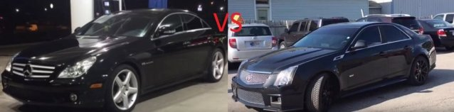 CLS55 VS CTS-V