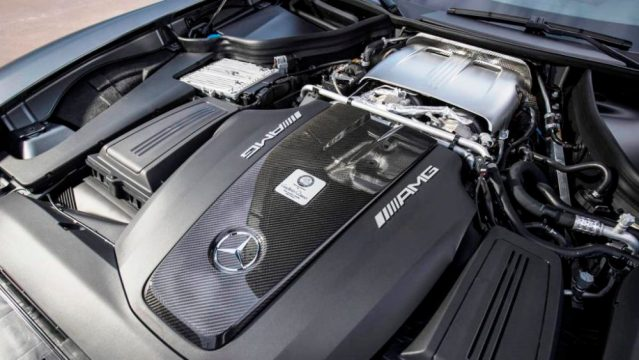 Hot V motor