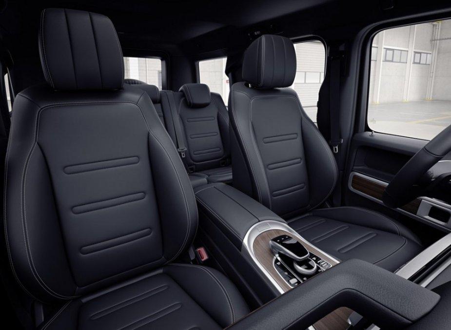 2019 G-Class Seats in Black