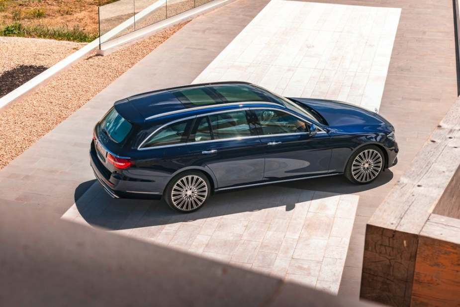 mercedes e class wagon acoustic package