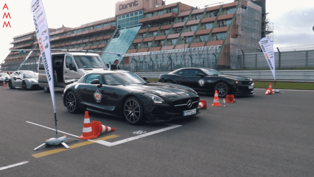 SLS AMG Black Series Nurburgring