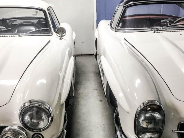 1956 and 1963 300 SL Pair