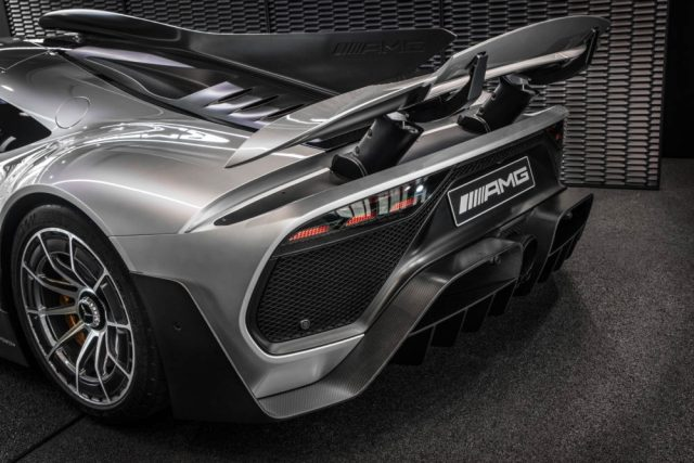 Mercedes-AMG ONE.//In the run-up to the Paris Motor Show, the sports car and performance brand announces the name of the Hypercar production version: its name is Mercedes-AMG ONE.